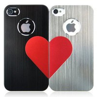 3D Love Metal iPhone Case For Lovers: Cell Phones & Accessories
