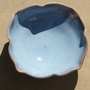 Light Blue & Purple Candy Dish - handmade pottery, stoneware