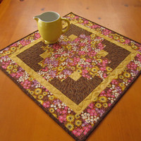 Handmade Table Topper Floral