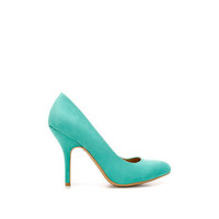 COLOURED FAUX-SUEDE COURT SHOE - Shoes - Woman - ZARA United States