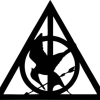Harry Potter Deathly Hallows Hunger Games by tattoosforcars