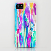 Summer Ikat iPhone Case by Amy Sia | Society6