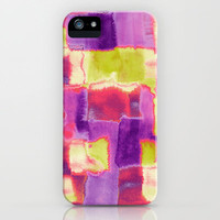 Colour Block iPhone Case by Amy Sia | Society6
