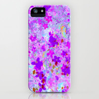 Snowflower iPhone Case by Amy Sia | Society6