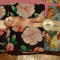 Tea Bag Wallet Tote Purse Organizer