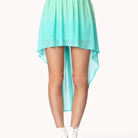 High-Low Ombré Skirt | FOREVER21 - 2035965513
