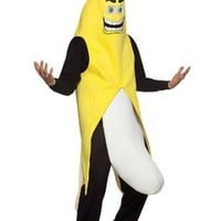Amazon.com: Banana Peel Flasher Funny Costume Adult Standard: Toys & Games