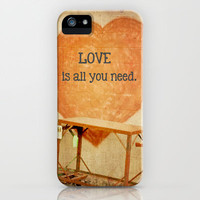 Love is All You Need iPhone Case by Olivia Joy StClaire | Society6