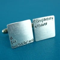A Bit Magnificent Cuff Links - Spiffing Jewelry