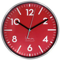 Witherspoon Clock in Red by Projects Designs - Pop! Gift Boutique