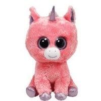 Ty Magic the Pink Unicorn Beanie Boos Stuffed Plush Childrens Kids Toy