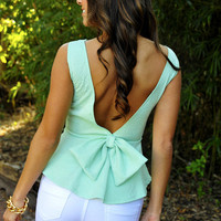 RESTOCK:Forever And Always Top: Mint Green | Hope&#x27;s