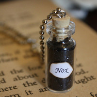 Harry Potter Potion - Nox Vial Necklace