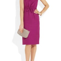 Giambattista Valli | Linen-blend dress | NET-A-PORTER.COM