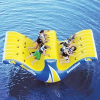 The Ten Person Water Totter - Hammacher Schlemmer
