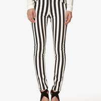 Vertical Striped Skinny Jeans | FOREVER21 - 2037775315