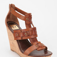 DV By Dolce Vita Tex Cork Platform Wedge Sandal