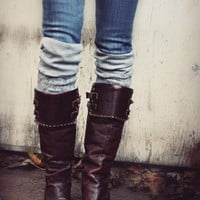 Made By Lex » Blog Archive » How To Make Leg Warmers or Boot Socks