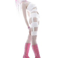 XXS White leeloo costume from Artifice Clothing (ready to ship)