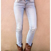 ZANA DI DENIM SKINNY JEANS