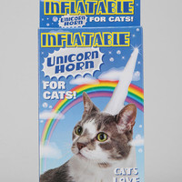 Urban Outfitters - Inflatable Unicorn Horn For Cats