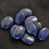 Genuine Lapis Lazuli Dark Blue Beads Jewelry Supplies by NicisBeads