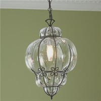 Fasciati Glass Lantern - Shades of Light