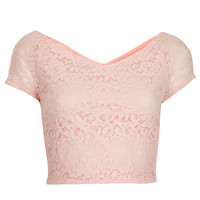 Tall Lace Crop Top - New In This Week - New In - Topshop USA