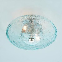 Recycled Bottle Glass Bowl Ceiling Light - Shades of Light