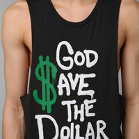 Deter God Save The Dollar Muscle Tee