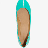 Patent Ballet Flats