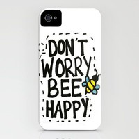 BEE Happy iPhone Case by Kayla Gordon | Society6