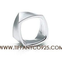Shopping Cheap Frank Gehry Torque Wide Ring in Sterling Silver At Tiffanyco925.com - Discount Tiffany Rings