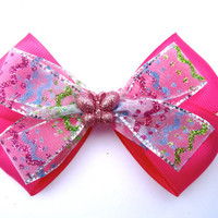 Pink Easter Bows for girls