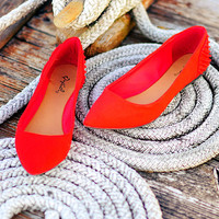 Point Me North Flats: Bright Red | Hope&#x27;s