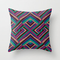 Umoja 2 Throw Pillow by Jacqueline Maldonado | Society6