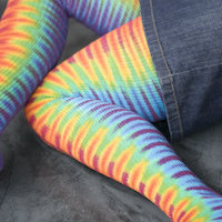 Socks by Sock Dreams  Sock Collections  Warm  Tie Dyed Scruffables