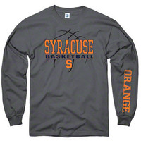 Syracuse Orange Charcoal Primer Basketball Long Sleeve T-Shirt | Scheels