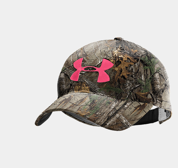 s ua camo logo adjustable hat from armour