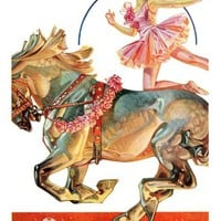 Circus Bareback Rider,May 14, 1932 Giclee Print by J.C. Leyendecker