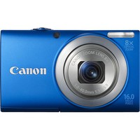 Canon - PowerShot A4000 IS 16.0-Megapixel Digital Camera - Blue