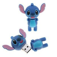 Amazon.com: High Quality 32 GB Stitch style USB flash drive - Blue: Computers &amp; Accessories