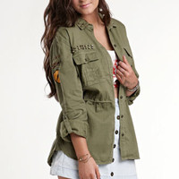 Kendall &amp; Kylie Utility Shirt at PacSun.com