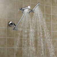 The Dual Spray Showerhead - Hammacher Schlemmer