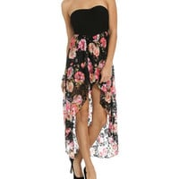 Printed Lace 2fer Dress | Shop Trending Now at Wet Seal