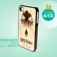 Harry Potter And The Deathly Hallows  - iPhone 4 / 4s Black case