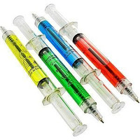 Syringe Pens by RustedVision on Etsy