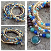 Mood Changing Charm - Stack Beaded Bracelets