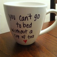 One Direction &quot;Little Things&quot; lyric mug