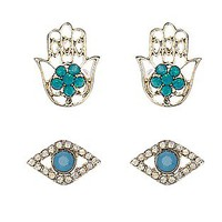 ASOS Fashion Finder | 2 x Hand and Eye Stud